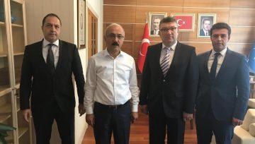 AK Parti Genel Başkan Yardımcısı, Sayın; Lütfü ELVAN'ı ziyaret ettik